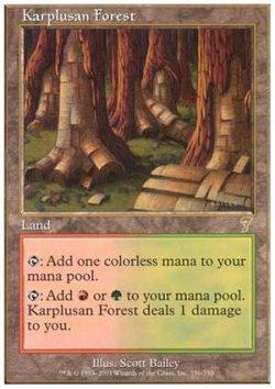 画像1: (7ED-R)Karplusan Forest/カープルーザンの森(JP,ENG)