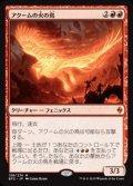 (BFZ-MR)Akoum Firebird/アクームの火の鳥(英,EN)