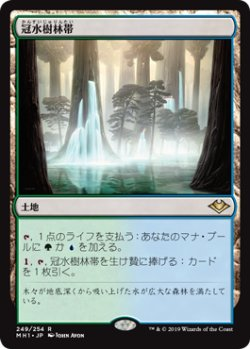 画像1: 【Foil】(MH1-RL)Waterlogged Grove/冠水樹林帯(英,EN)