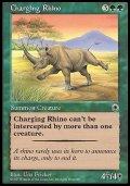 (Po1-Rare)Charging Rhino/突進するサイ(日,Japanese)