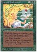 【黒枠FBB】(3ED-R)Verduran Enchantress/新緑の女魔術師(伊,Ita,独,ger,仏,Fra)