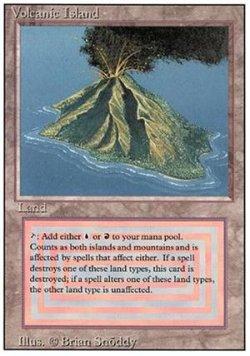 画像1: (3ED-R)Volcanic Island(英,EN)