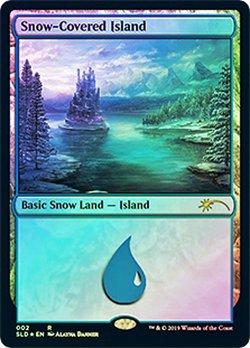 画像1: (SLD-RL)Snow-Covered Island/冠雪の島(英,EN)
