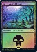 (SLD-RL)Snow-Covered Swamp/冠雪の沼(英,EN)