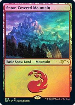 画像1: (SLD-RL)Snow-Covered Mountain/冠雪の山(英,EN)