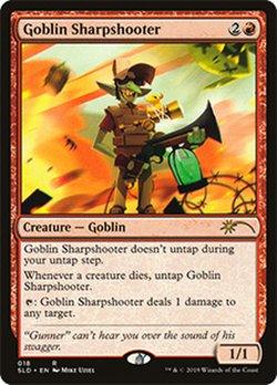 画像1: (SLD-RR)Goblin Sharpshooter/ゴブリンの名手(英,EN)