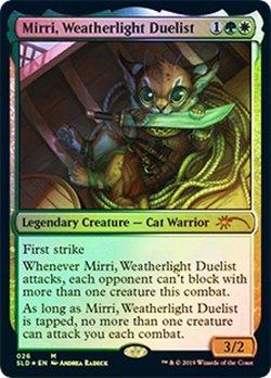 画像1: (SLD-MM)Mirri, Weatherlight Duelist/ウェザーライトの決闘者、ミリー(英,EN)