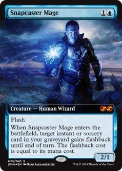 画像1: (UMA-Box_Topper-MU)Snapcaster Mage/瞬唱の魔道士(英,EN)
