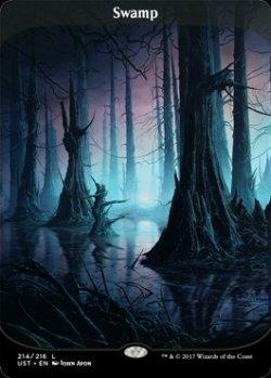 画像1: 【Foil】(UST-CL)Swamp/沼