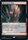 【Foil】(ZNE-ML)Blackcleave Cliffs/黒割れの崖(英,EN)