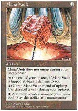 画像1: (5ED-R)Mana Vault/魔力の櫃(英,ENG)