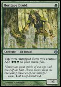 $FOIL$(MOR-UG)Heritage Druid/遺産のドルイド(日,JP)
