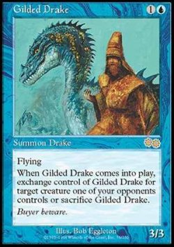 画像1: (USG-R)Gilded Drake/金粉のドレイク(ENG)